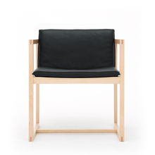 REN クリアー FRAME with ブラック Leather Cushion