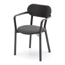 CASTOR ARMCHAIR PLUS PAD ブラック