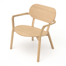CASTOR LOW CHAIR ピュアオーク