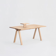 Sagyo Table ホワイト(Rectangular Tray付) W1600