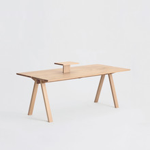 Sagyo Table ホワイト(Rectangular Tray付)W2000