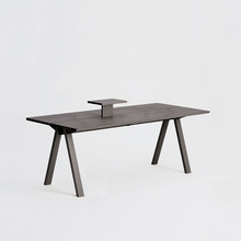 Sagyo Table スモーク(Rectangular Tray付)W2000