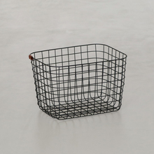 WIRE BASKET M ブラック