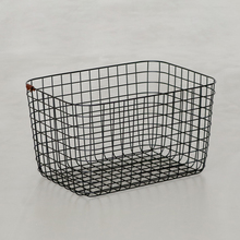 WIRE BASKET L ブラック